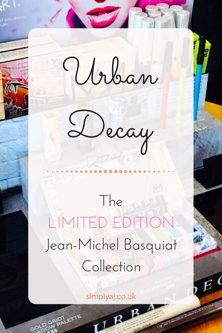 Urban Decay's LIMITED EDITION collection: the Jean-Michel Basquiat Collection. Read all about the launch here.