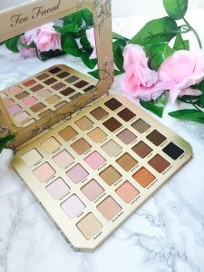 Here's my thoughts on the most recent eyeshadow palette from Too Faced: Natural Love.