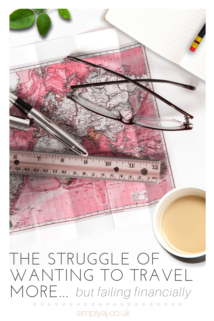 When did being young become associated with the ability to travel? Today, I'm talking about the struggle of wanting to travel more but failing financially.