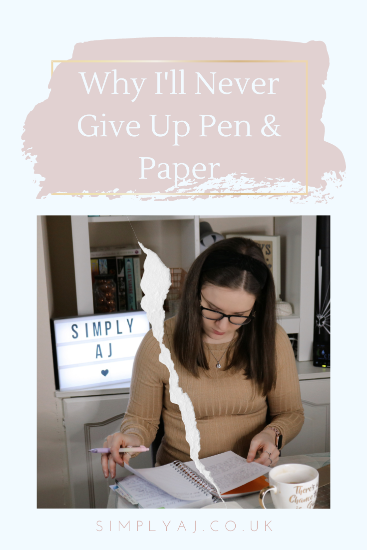 Call me old-fashioned, but there's nothing I love more than sitting down with my notepad and pen. Here's why I'll never give up pen and paper.